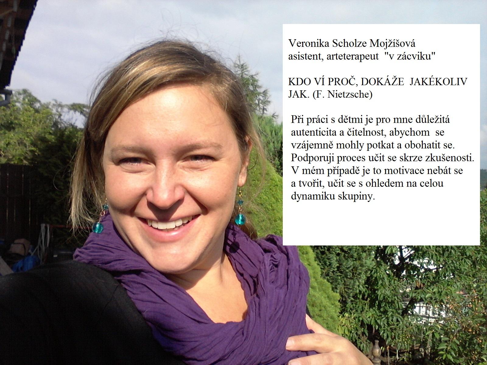 Veronika Scholze - na web